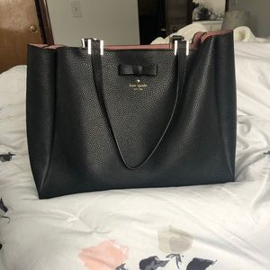 Kate Spade pebbled leather tote bag